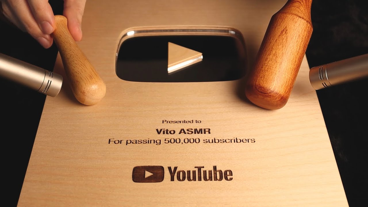 ASMR 99.9% Relaxing Wood Triggers (feat. Wood Play Button)🌳 나~무야호! 팅글이 마구마구 느껴지는 나무소리 모음집(feat.우드버튼)