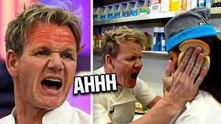 Gordon Ramsay LOSES IT With His Chef