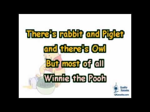 Winnie the Pooh Theme (Karaoke Instrumental) w/ Lyrics
