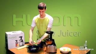 Микс соков Морковка, яблоко, сельдерей Hurom HE DBF04