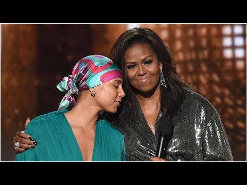 ...la música siempre me ayudó a contar mi historia, dijo Michelle Obama en los Grammy