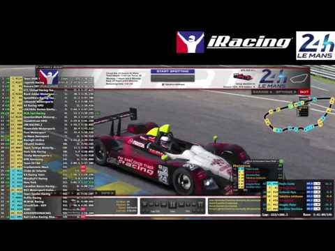 iRacing 24 Hours of Le Mans #3
