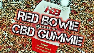 Red Bowie CBD Gummie