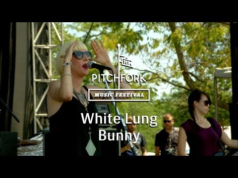 """White Lung- """"Bunny"""" - Pitchfork Music Festival 2013"""