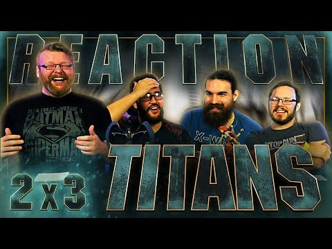 """Titans 2x3 REACTION!! """"Ghosts"""""""