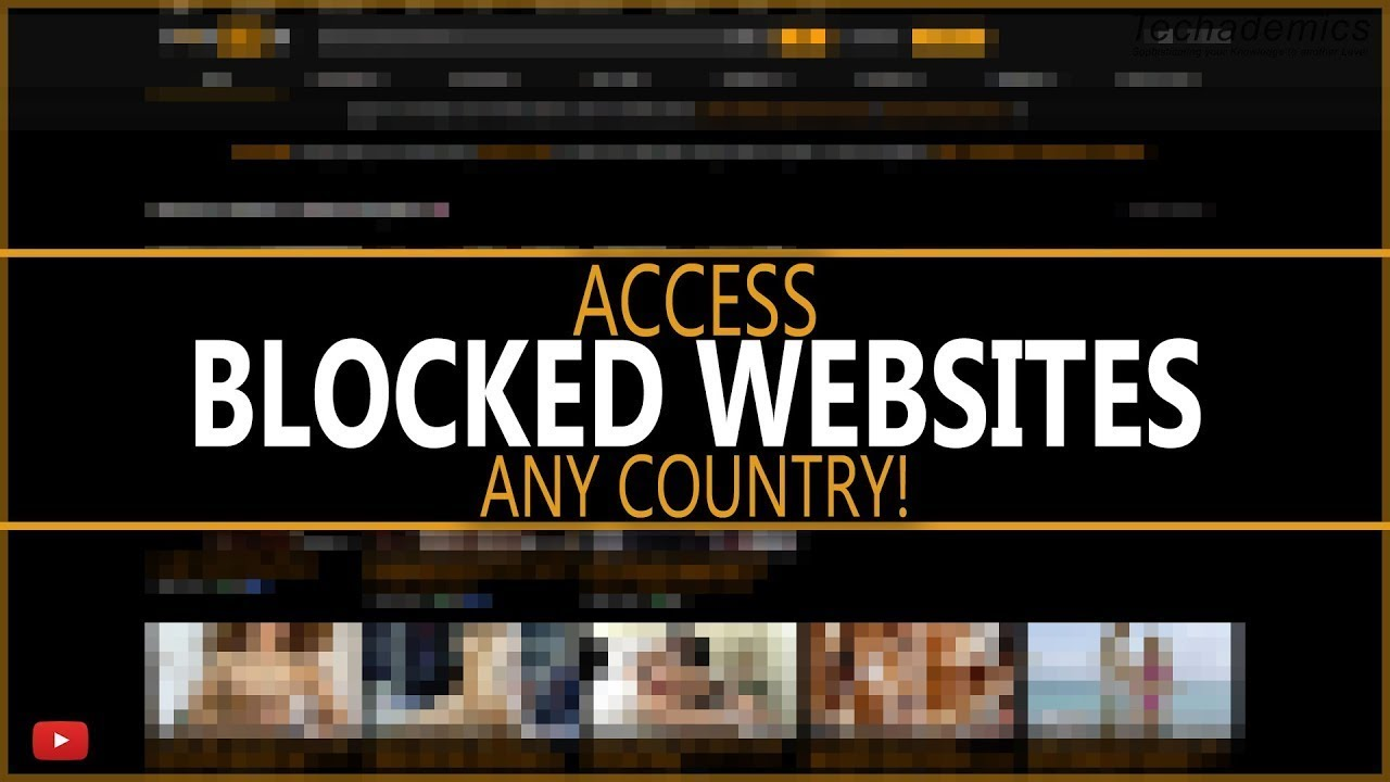 how to access bloked sites