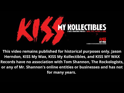 KISS My Kollectibles: Episode 1 - Tourbooks pt. 1
