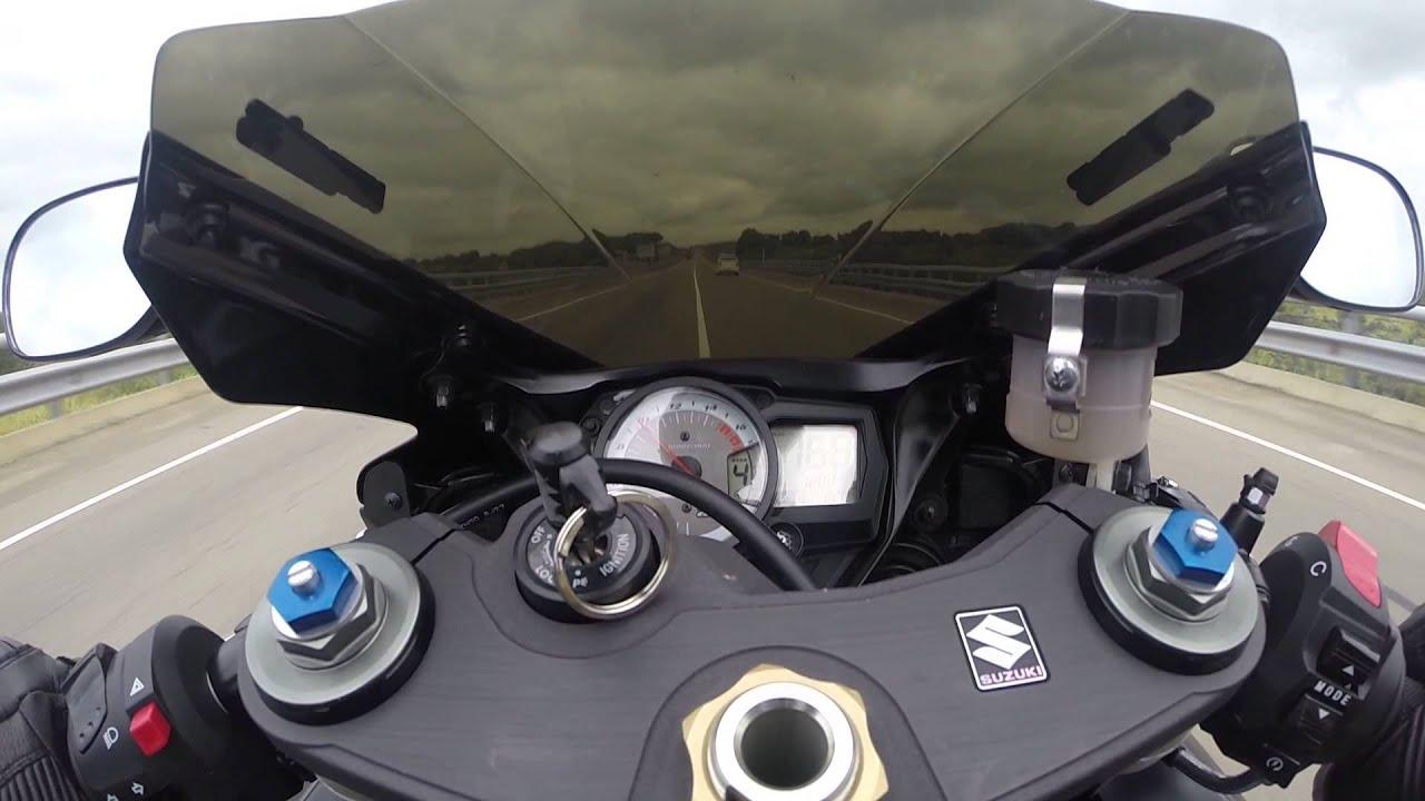 Suzuki GSXR 750 2009 K9 top speed