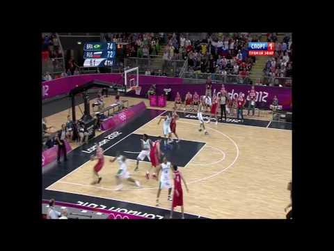 Россия Бразилия ОИ 2012 Лондон Победный бросок Фридзона