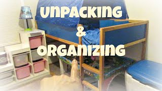 Unpacking and Organizing {Daily Vlog}