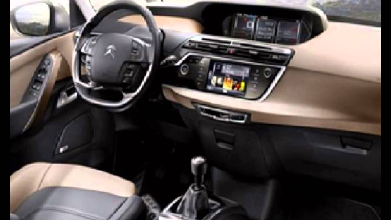 2016 citroen c4 picasso interior youtube. Black Bedroom Furniture Sets. Home Design Ideas