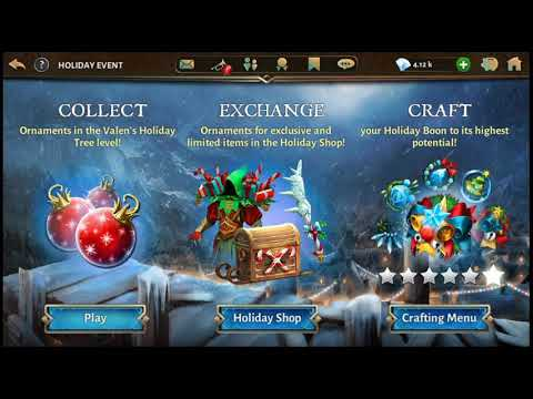 Dungeon Hunter 5 Christmas Special Event