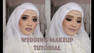 Gambar cover WEDDING MAKEUP TUTORIAL | HIJAB | UCHYLESTARI