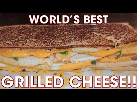 World's BEST Grilled Cheese Sandwich Challenge!!