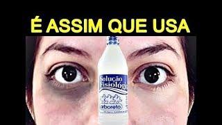 Vitamina reduz as c sob o olheiras soro os olhos da