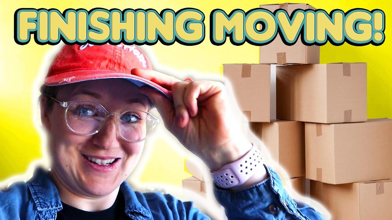 Finishing Moving!