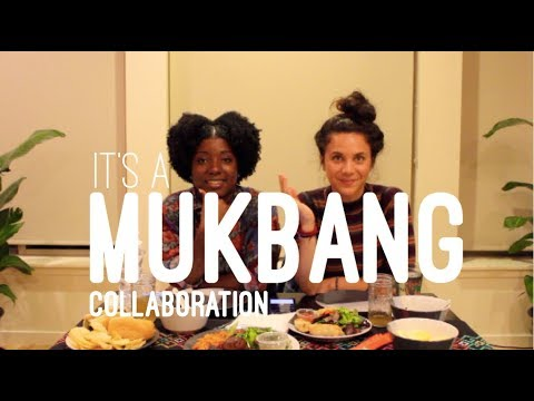 MUKBANG - Food Talk w/ Jackie & Isabeau - Luc Lac Portland Oregon