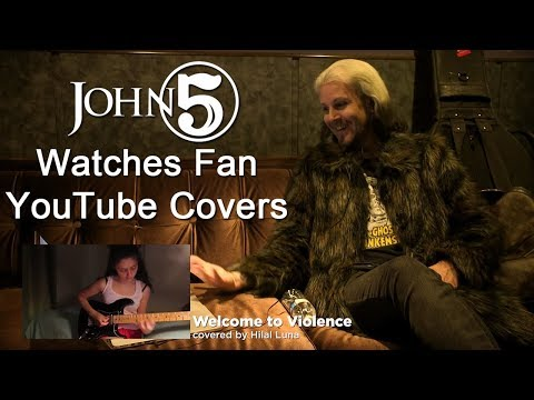 JOHN 5 Watches Fan Guitar Covers on YouTube | MetalSucks