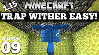 Trap and Kill The Wither EASY Minecraft 1.15.2+ #9