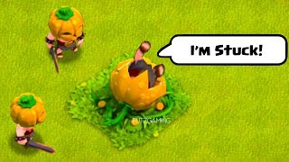 Halloween Funny Moments, Epic Plays, Glitches, and Fails - Clash of Clans Montage #2