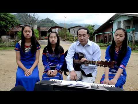 Saw Ruby interview & Myanmar Gospel Song (မိုုးကုုတ္ျမိဳ႔) Wa-Nyi Ah-Wu