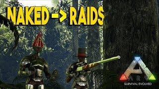 "Video ""NAKED TO RAIDS"" - NOMADS #1 | ARK: SURVIVAL EVOLVED (Official PVP) download MP3, 3GP, MP4, WEBM, AVI, FLV Agustus 2017"