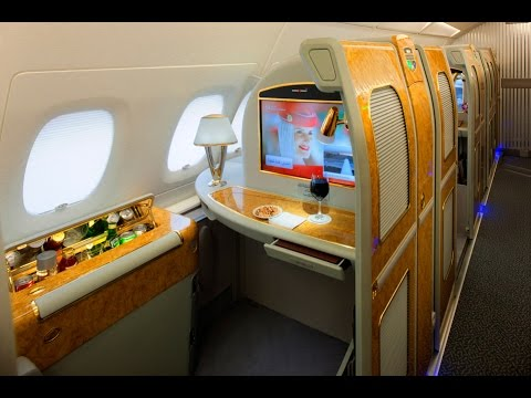 Emirates First Class A380 | Dubai to Munich