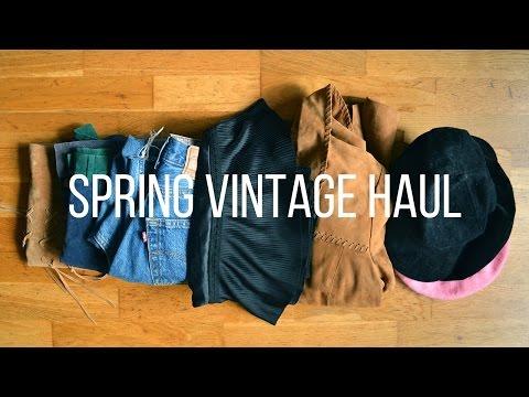 Spring Vintage & Secondhand Haul | Fashion Et Moi