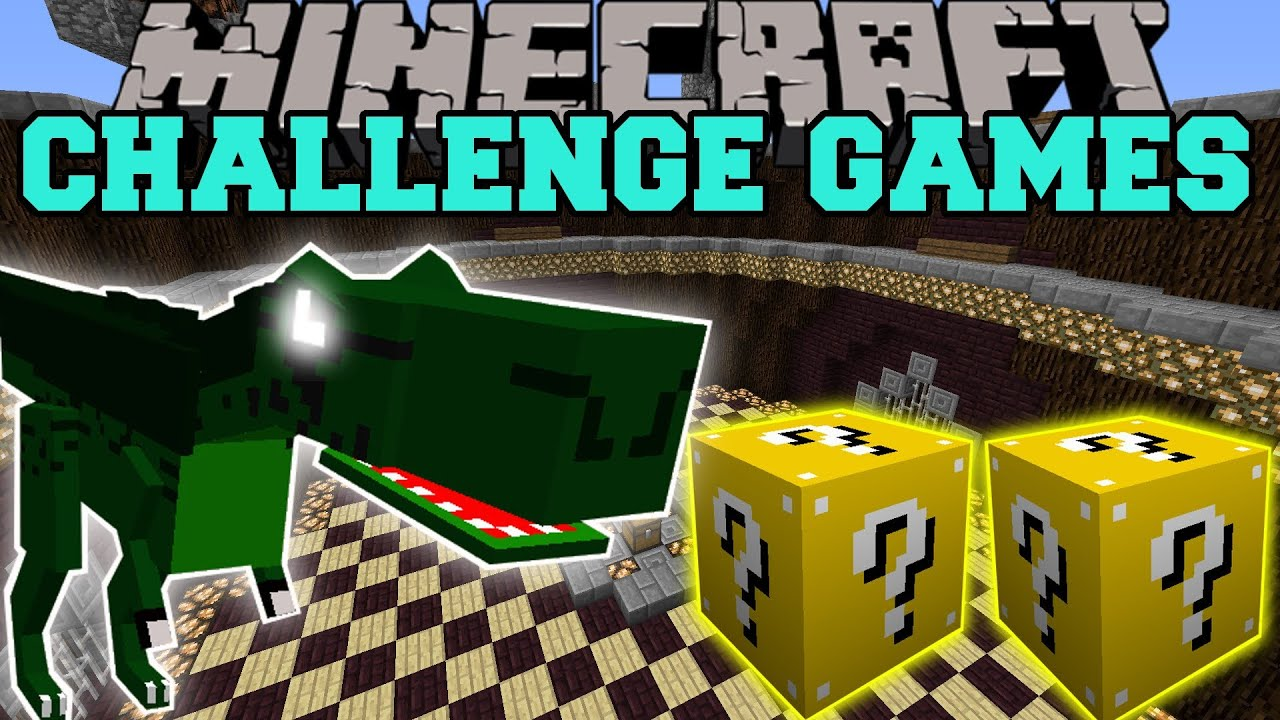 Challenge games lucky block mod orespawn modded mini game