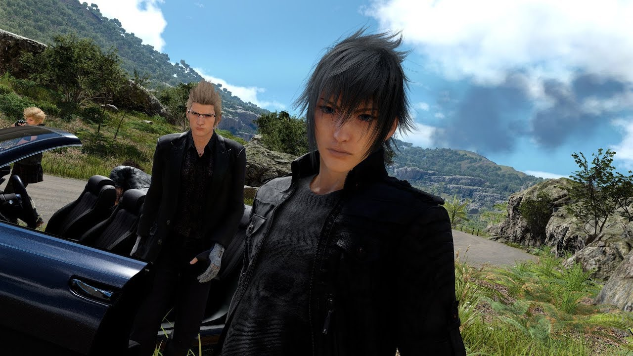 Final Fantasy XV Windows Edition Mod Tools and Level Editor in Action