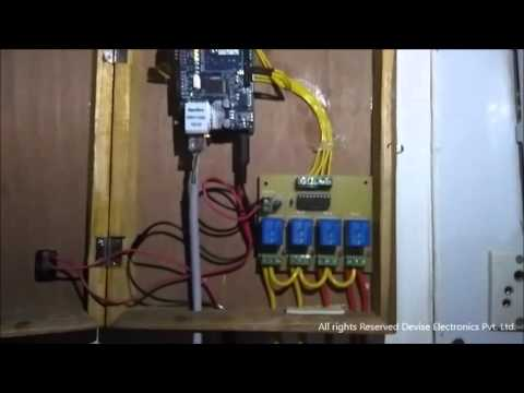 Home automation using Internet of Things