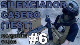 Airsoft Capsule Vlog #6 | El silenciador casero con azucar para el MP7 | Airsoft para Principiantes