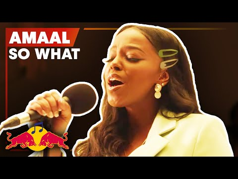 Amaal - So What | Live | Red Bull Music