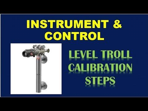 Instrumentation  and control Training - LEVEL TROLL WET CALIBRATION