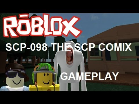 Roblox Scp 096 The Scp Comix Ft Book Gameplay โกย