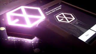 EXO VERSION 2 OFFICIAL LIGHTSTICK ( Tutorial/Set up)