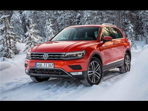 2017 Volkswagen Tiguan 4motion Awd Review Impressions Test