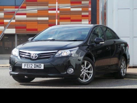 2012 12 Toyota Avensis 20 D 4d T4 4dr In Black Youtube