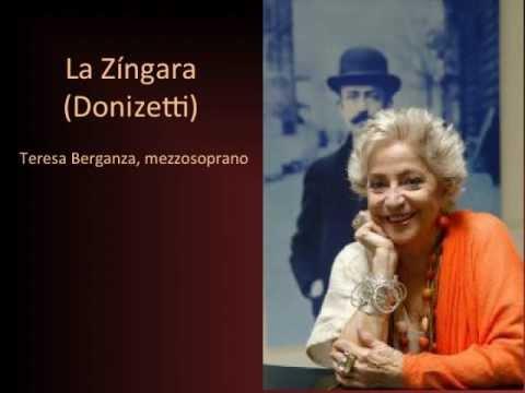 Teresa Berganza La Zíngara, Donizetti Recorded Live