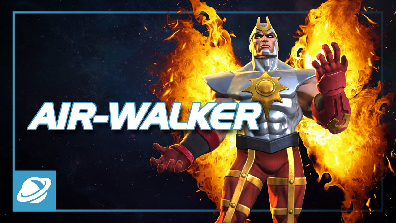 Air-Walker Special Moves | Marvel Contest of Champions