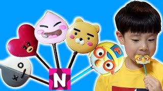 유령이 가져간 초콜릿 찾아요 뉴욕이랑 놀자 Finger Family Song with Ghost & Chocolate Nursery Rhymes NY Toys