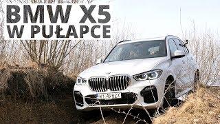 """BMW X5 w pułapce - test pakietu Offroad """"pod górkę"""""""