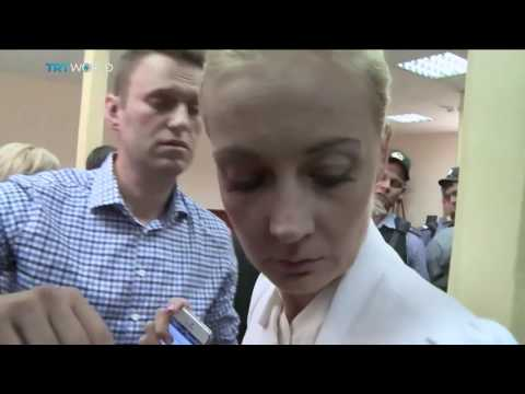 Russian Embezzlement Trial  Navalny given five year suspended sentence
