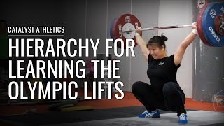 Hierarchy for Learning the Olympic Lifts