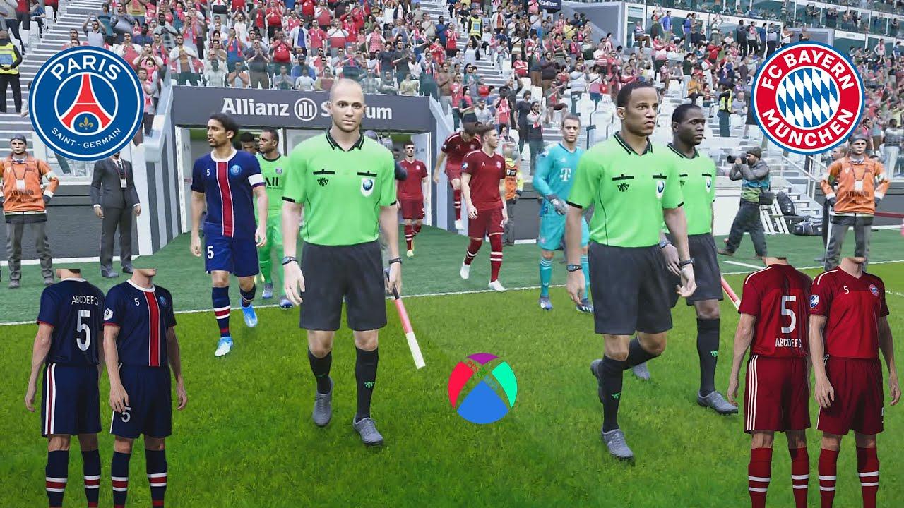 BAYERN VS PSG KITS 21/22 GAMEPLAY PES 2021