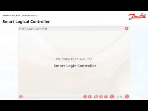 Danfoss Learning - Smart Logic Controller - eLesson preview
