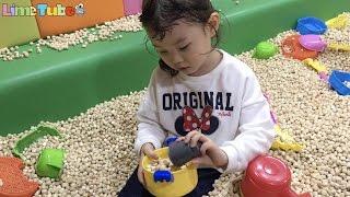 라임이의 타요 자동차 키즈카페 편백나무 밥짓기 장난감 놀이 Tayo Bus Car Kids Cafe Toys Play ТАЙО Игрушки 라임튜브