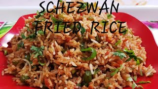 SCHEZWAN FRIED RICE - QUICK AND EASY RECIPE