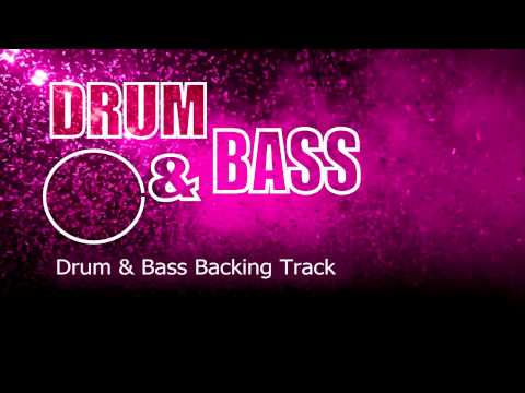 Drum & Bass Guitar Backing Track 105 Bpm