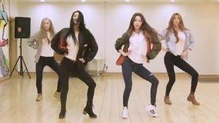 DALSHABET - Someone like U - mirrored dance practice video - 달샤벳 너 같은 안무영상